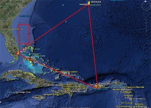 Bermuda: Từ quái vật đến người ngoài hành tinh - 1