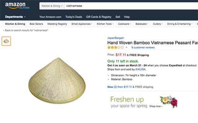 Cao sao vàng, chổi đót, nón lá Việt Nam đắt khách nơi xứ người - 3