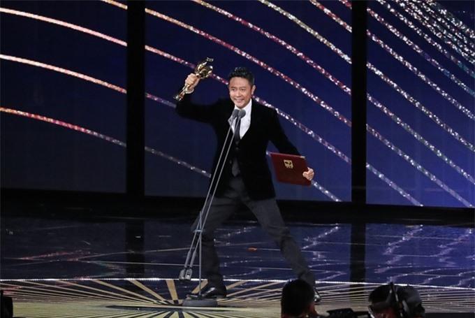 Ấn Tiểu Thiên hãnh diện về giải Nam diễn viên phục xuất sắc - phim Liệt hỏa anh hùng.
