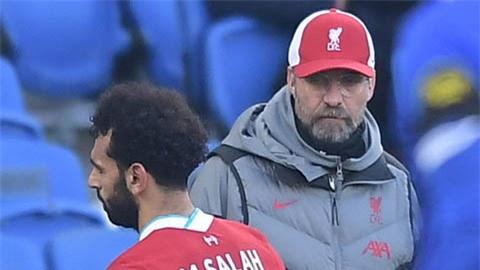 Salah tức giận vì bị thay, Klopp giải thích gì?