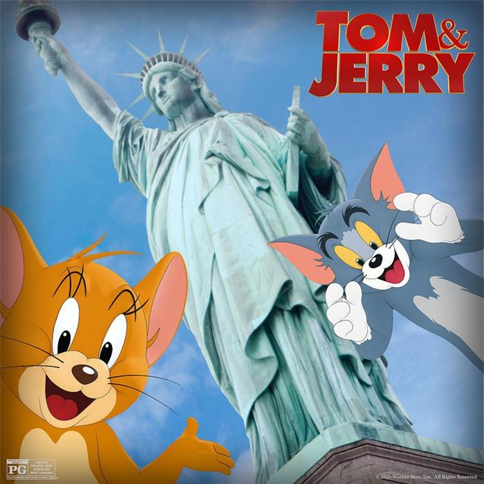 """Tom và Jerry khai chiến vì """"con dâu hụt"""" nhà Beckham - Ảnh 1."""