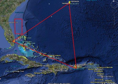 Bermuda: Từ quái vật đến người ngoài hành tinh