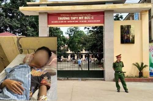 Hà Nội: Điều tra nhóm học sinh vác dao đuổi chém nhau quanh trường