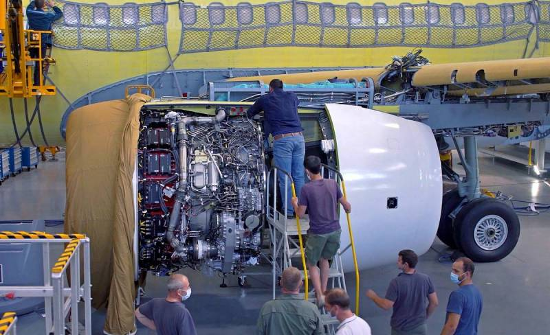 Động cơ nội địa PD-14 sẽ sớm được Nga lắp cho máy bay chở khách thân hẹp MS-21. Ảnh: TASS.