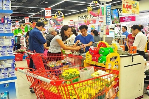 Doanh thu bán lẻ hàng hóa tháng 11 tăng 13.2% so với tháng 10