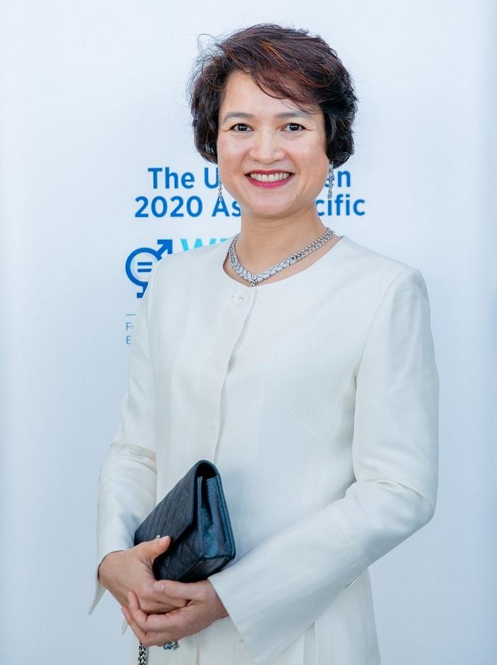 Bà Nguyễn Thị Hương Liên - Phó Tổng giám đốc Công ty Cổ phần Sao Thái Dương.
