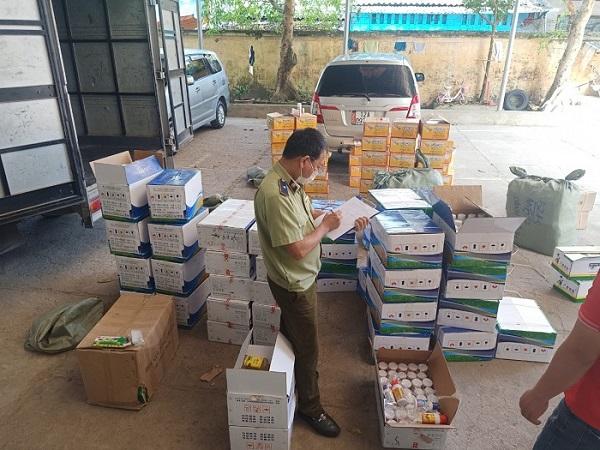 Lạng Sơn: Bắt giữ hơn 12.000 sản phẩm thuốc bảo vệ thực vật nhập lậu