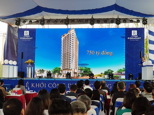 Vicoland khởi công dự án chung cư cao cấp tại quận Ngũ Hành Sơn