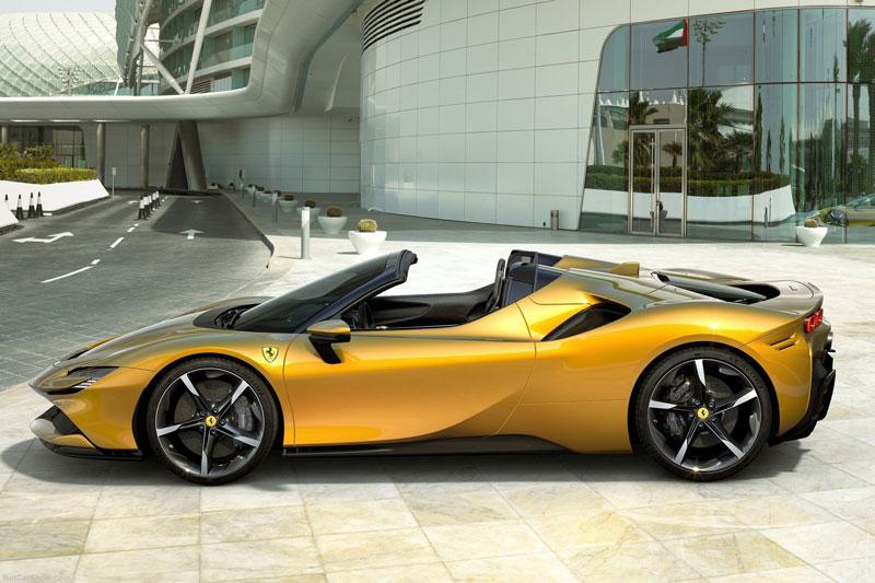 Khám phá siêu xe mui trần Ferrari SF90 Spider 2021, giá hơn 13 tỷ