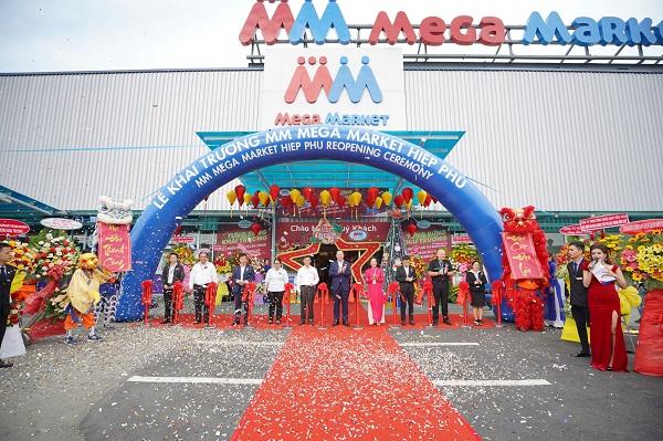 MM Mega Market Hiệp Phú chuyển đổi  thành tổ hợp mua sắm, ăn uống, giải trí.