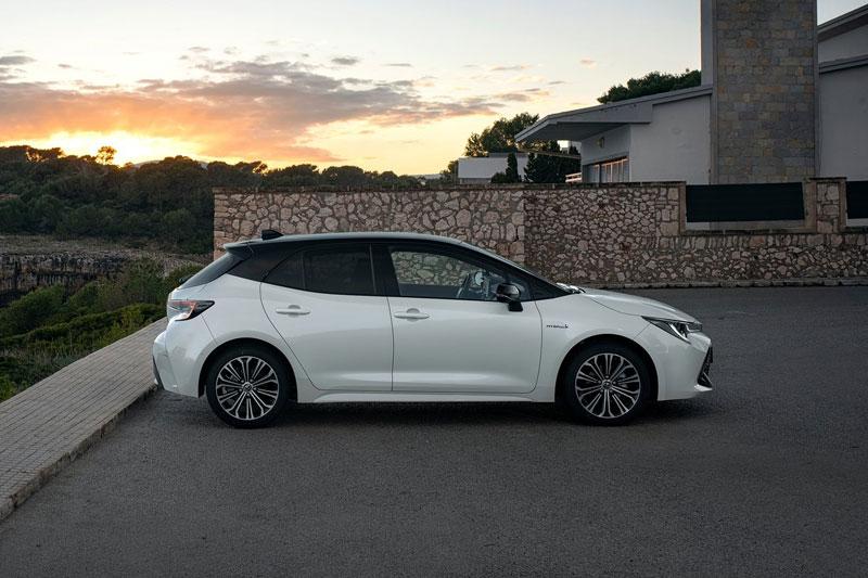 Toyota Corolla Hatchback.