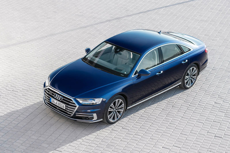 7. Audi A8.