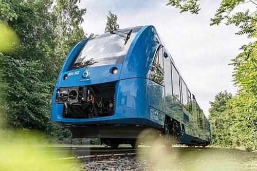 Tàu hỏa chạy bằng khí Hydro xanh(Nguồn:AFP)