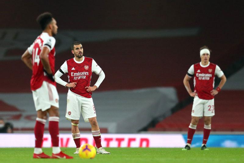 Arsenal thể hiện phong độ kém cỏi ở mùa giải này.