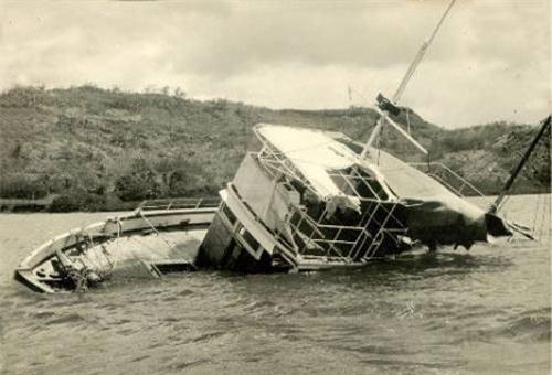 """Kì bí con tàu ma """"không thể chìm"""" - 1"""