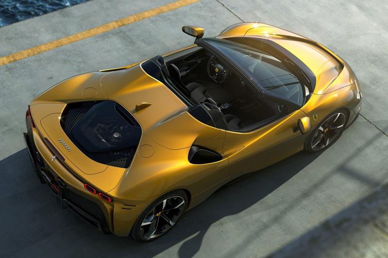 Ferrari SF90 Spider 2021.