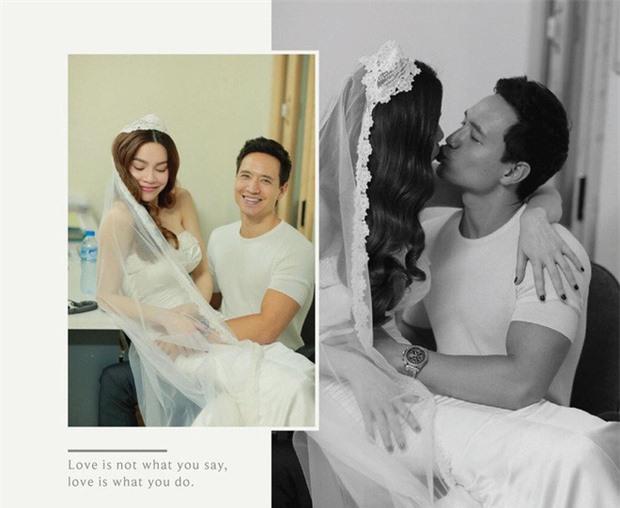 Hồ Ngọc Hà tiết lộ sự thật về bức ảnh hậu trường chụp hình cưới - Ảnh 2.