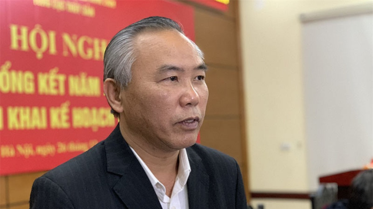 Ông Phùng Đức Tiến – Thứ trưởng Bộ Nông nghiệp & Phát triển nông thôn. (Ảnh: Vietnamnet)