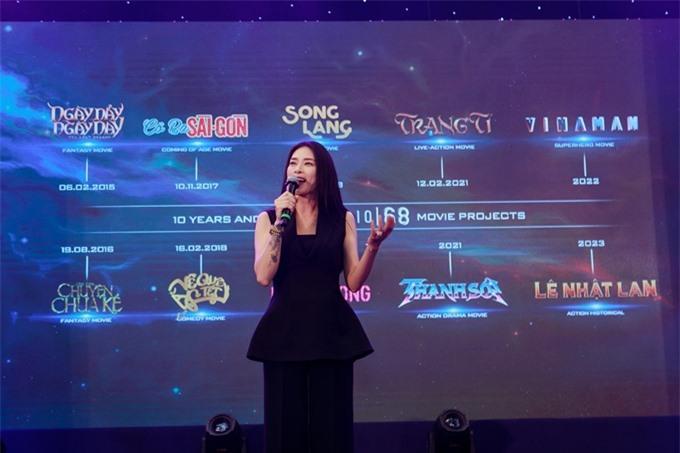 Ngô Thanh Vân chia sẻ về các bộ phim cô đã, đang và sẽ thực hiện.