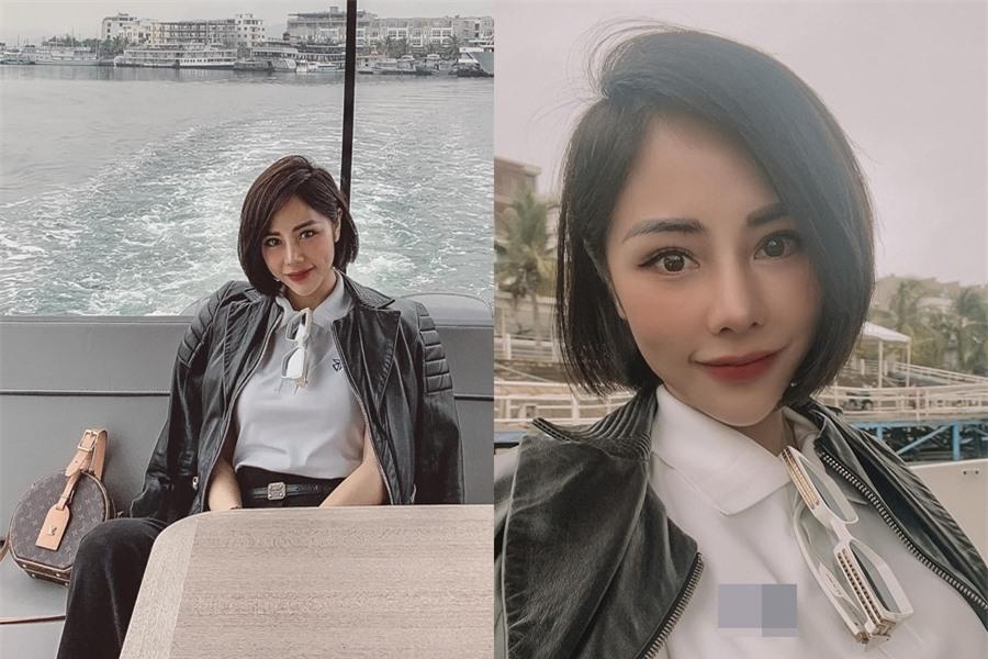 Bạch Lan Phương sinh năm 1986, hơn bạn trai 6 tuổi. Nhờ ngoại hình trẻ trung, cô không chênh lệch tuổi tác so với Huỳnh Anh.