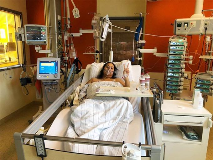 Brittanya Karma thông báo về việc bị Covid-19 hồi giữa tháng 11 trên trang cá nhân.