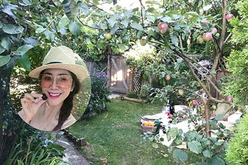 Khu vườn xanh mát của Hoa hậu Mỹ Vân