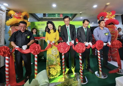 3, Nghi thức cắt băng khai trương BV RHM Sài Gòn ngày 29/11/2020.