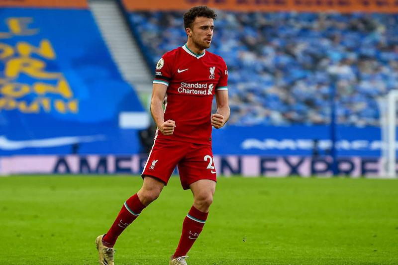 Tiền đạo: Diogo Jota (Liverpool).