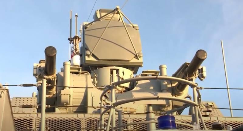Module tác chiến của hệ thống tên lửa phòng không hạm tàu Pantsir-M. Ảnh: Navy