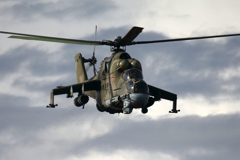 Trực thăng vũ trang Mi-24 do Liên Xô chế tạo. Ảnh: RT.