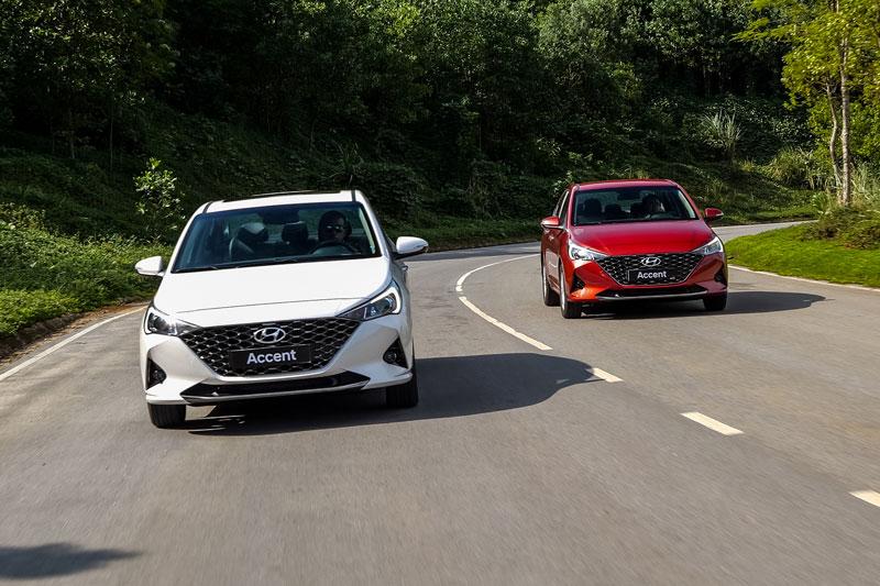 Hyundai Accent 2021 ra mắt tại Việt Nam, giá từ 426,1 triệu đồng