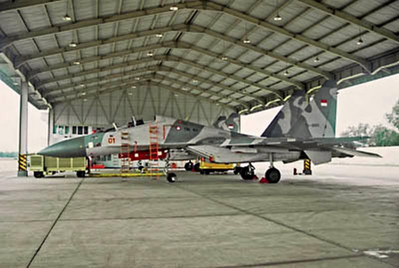 Tiêm kích Sukhoi Indonesia hưởng điều kiện bảo quản tốt hơn Nga