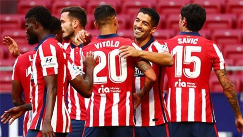 Atletico đang thể hiện một phong độ ấn tượng