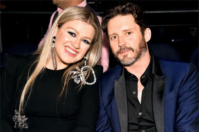Kelly Clarkson và Brandon Blackstock khi còn bên nhau.