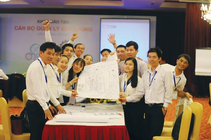 Hoạt động đào tạo tại Sun Group.