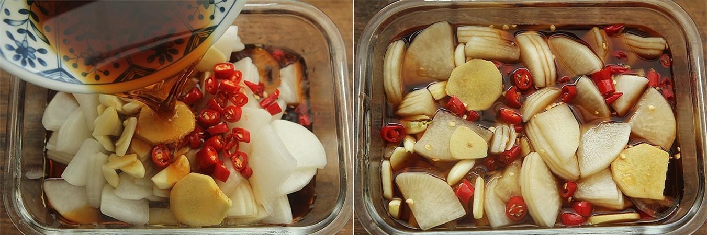 Cuối tuần nào tôi cũng làm củ cải ngâm chua ngọt để dành ăn dần trong tuần vì cả nhà ai cũng thích - Ảnh 4.