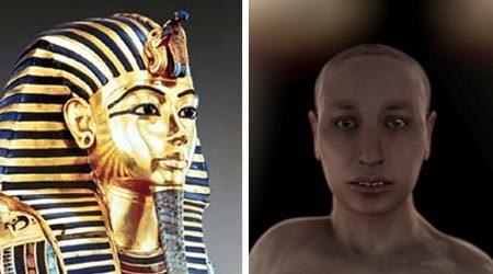 Hé lộ dung mạo dị dạng của pharaoh Ai Cập lừng danh