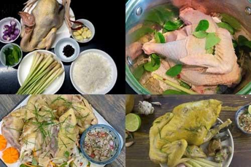 Mẹo làm gà hấp sả lá chanh mềm dai, ngọt thịt