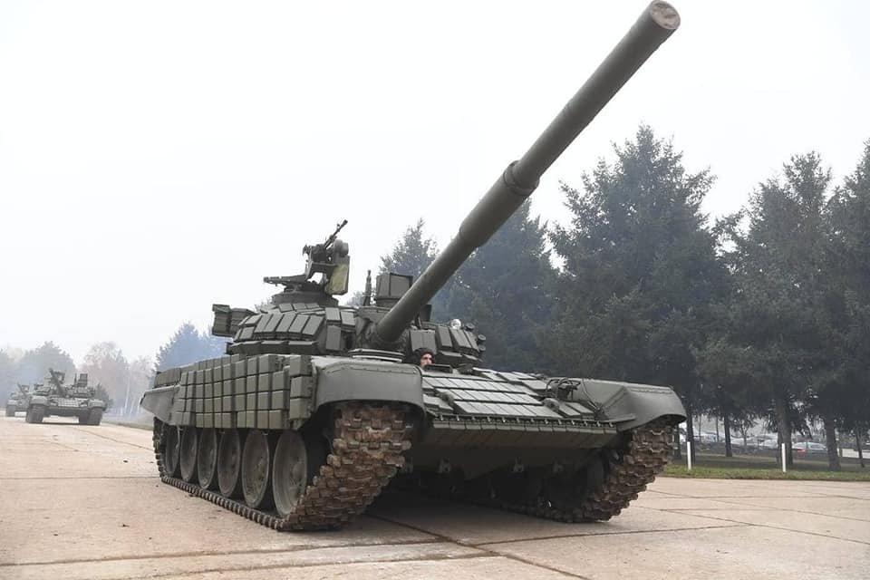 Xe tăng chiến đấu chủ lực T-72MS