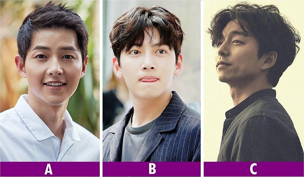 Bạn thích nam diễn viên Hàn Quốc.