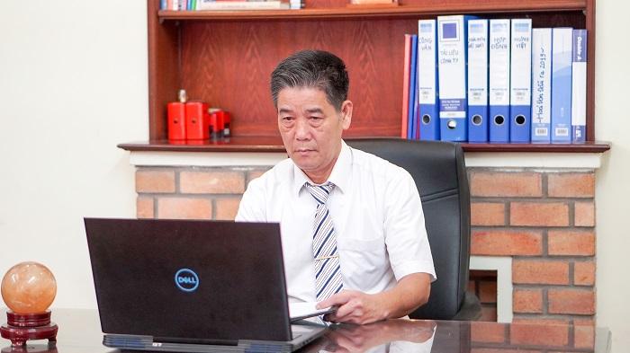 Ông Trương Văn Trắc - Tổng giám đốc Công ty Cổ phần Thanh toán Hưng Hà.