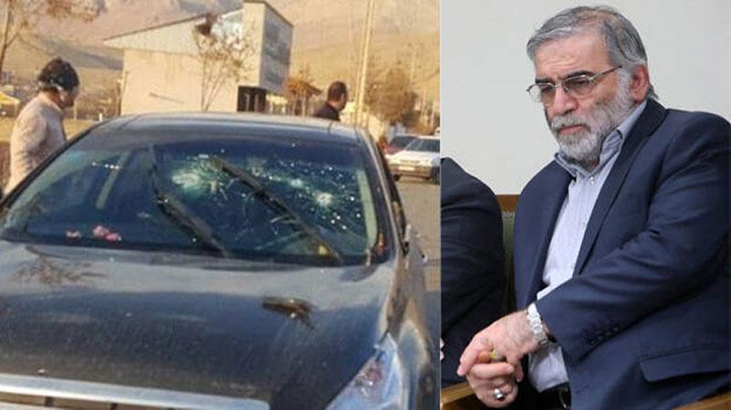 Hiện trường  ám sát nhà khoa học hạt nhân Iran Mohsen Fakhrizadeh.