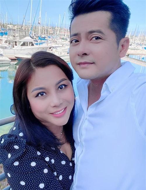 Vợ chồng Hoàng Anh và Quỳnh Như.