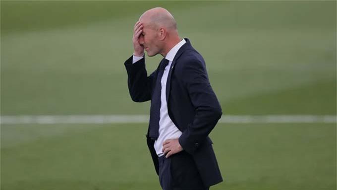 HLV Zidane đang phải chịu áp lực rất lớn