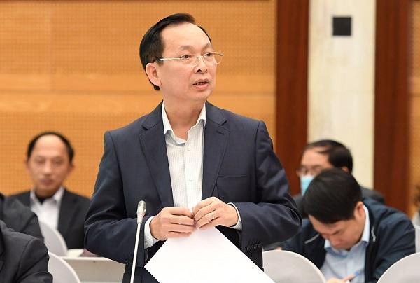 Phó Thống đốc NHNN Đào Minh Tú.