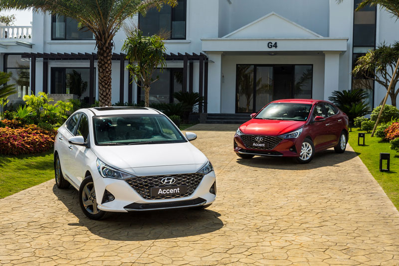Ảnh chi tiết Hyundai Accent 2021 vừa ra mắt, giá từ 426,1 triệu, cạnh tranh với Toyota Vios