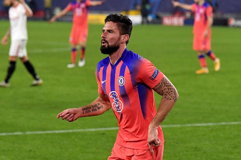 Đội hình tiêu biểu lượt trận thứ 5 vòng bảng Champions League: Vinh danh Giroud, Neymar