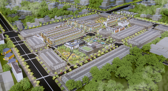 Tổng quan dự án Khu dân cư Đô thị tại Phường 3.