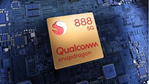 nền tảng di động mới nhất Qualcomm Snapdragon 888 5G, thiết lập nên tiêu chuẩn cho dòng smartphone cao cấp vào năm 2021.