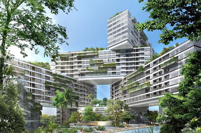 Ngắm những tòa nhà độc đáo ở Singapore